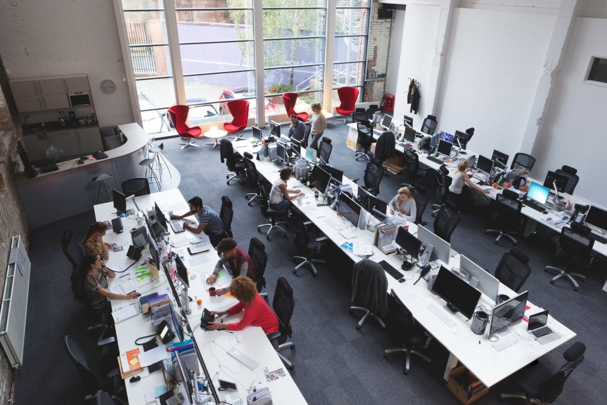 Open-plan offices drive down face-to-face interactions and increase use of email