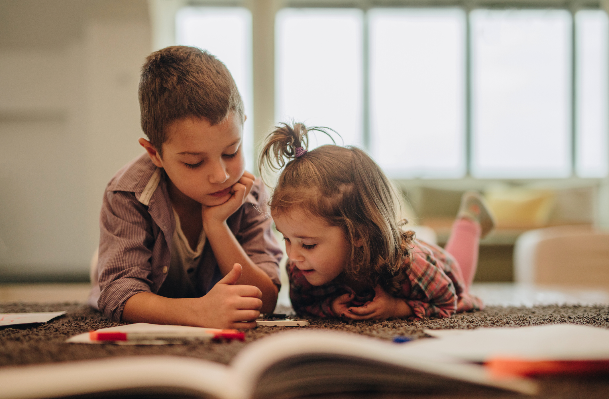 Children With An Older Brother Have Poorer Language Skills Than Those With A Big Sister